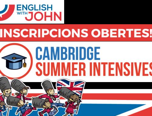 Cambridge summer intensives 2021 Inscripcions Obertes