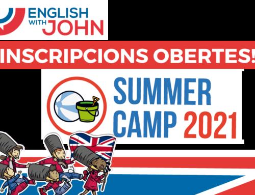 SUMMER CAMPS 2021 Incripcions obertes